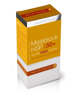 Melablock HSP 50+ - silna ochrona przeciwsłoneczna z aktywatorem HSP