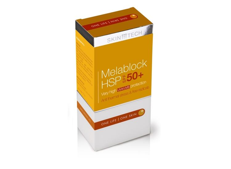Melablock HSP 50+ - Ochrona przeciwsłoneczna 4 w 1 !